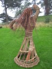 woven willow dancing lady by Beryl Smith